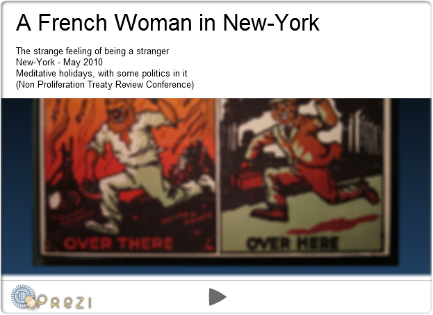 Prezi - A French Woman in New-York